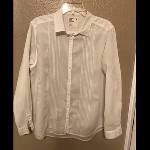 American Eagle Outfitters Women's White Blouse